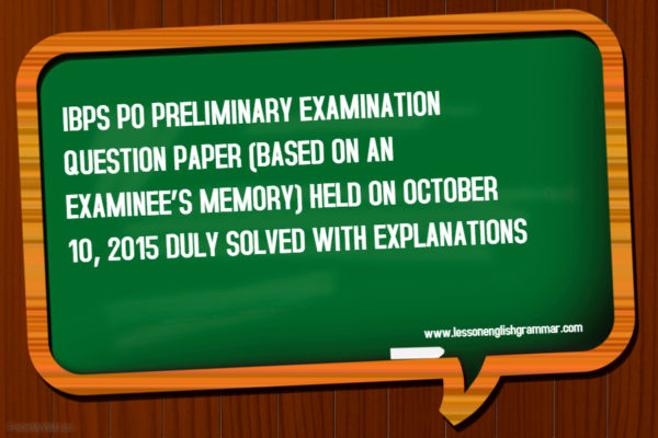 IBPS-Exam-English-Section