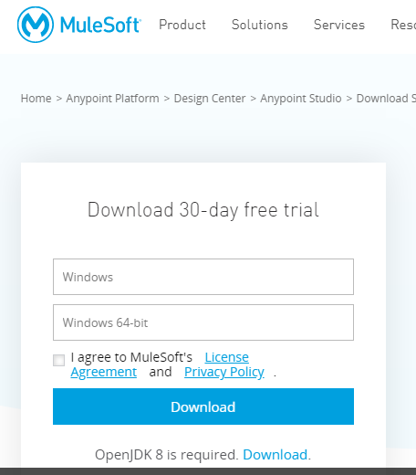 register_mulesoft_studio_download