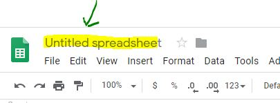 How to Rename GoogleSheet