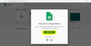 Take A tour Of Google_Sheet